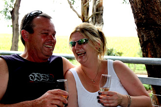 Photo: Year 2 Day 140 - Rachel and Shane at Helens Hill Vineyard