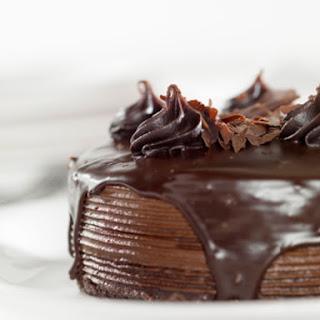 Chocolate Fudge Cake Recipe With Frosting.