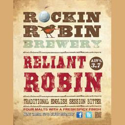 Logo of Rockin Robin Reliant Robin