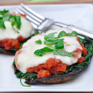 Spinach-Stuffed Portobello Mushrooms.