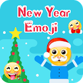 New Year SMS Emoji Keyboard