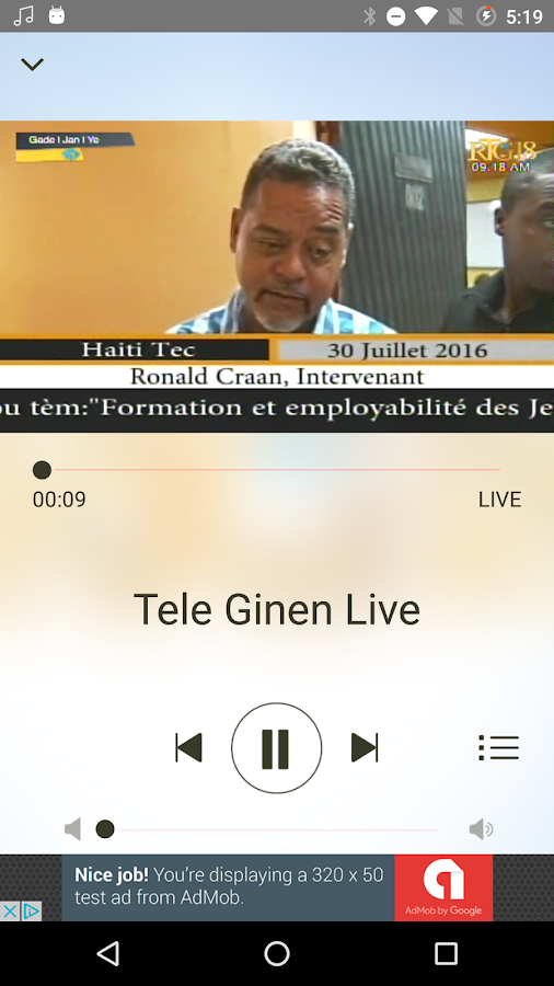 Radio Tele Ginen- screenshot