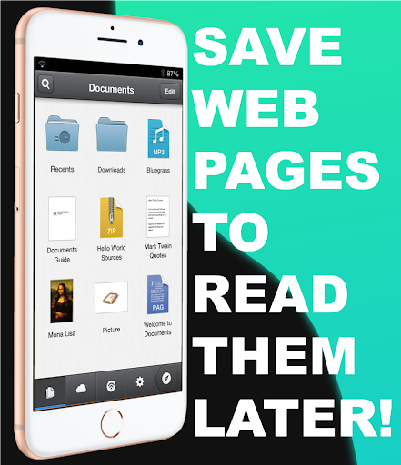 Documents by Readdle File Manager Documents Helper 1.0 screenshots 1