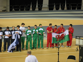 Photo: Scottish (2nd), Irish (4th) & Welsh (3rd) teams