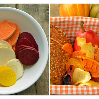 Root Veggie Chips Recipe – Healthy Lunch Idea for Kids.