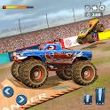 Fearless Monster Truck Demolition Racing Stunts icon