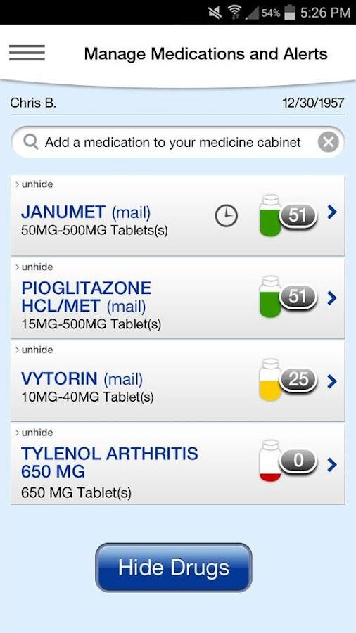 Express Scripts - screenshot