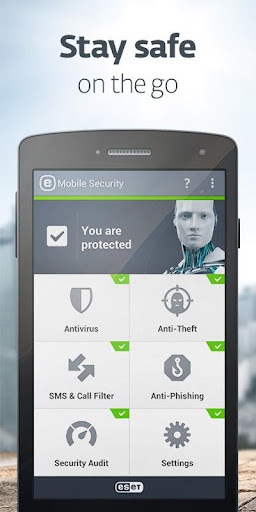 ESET Mobile Security & Antivirus V3.3.23.0 + original 3 keys