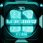 Next Launcher Theme LedShowCyn Icon