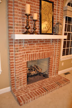 Photo: (Before) Tocco's Brick Fireplace Moorestown, NJ