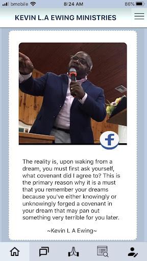 minister kevin l a ewing screenshot 1