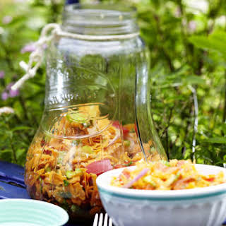 Carrot Salad with Spicy Asian Dressing.