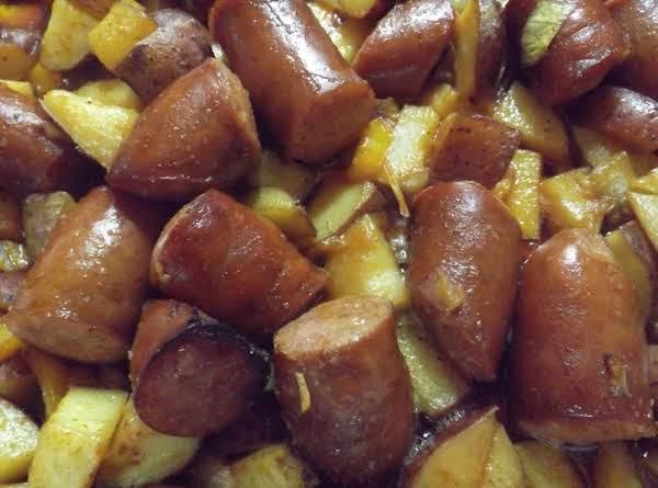 Kielbasa And Potato Bake Recipe