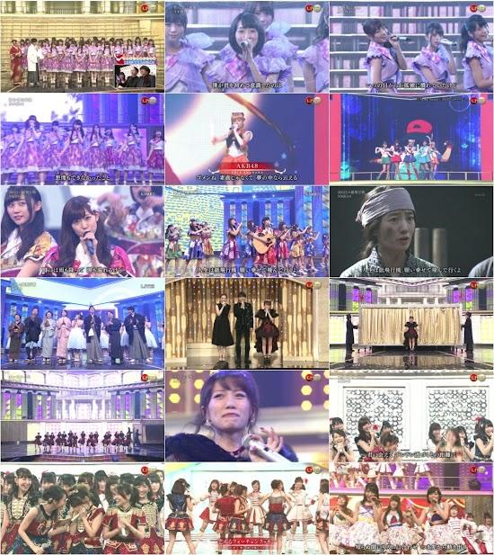 151231 AKB48G Nogizaka46 (乃木坂46) Part – 第66回NHK紅白歌合戦 (66th NHK Kouhaku Uta Gassen)