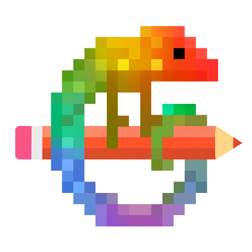 Pixel Art - Colour by Number Book