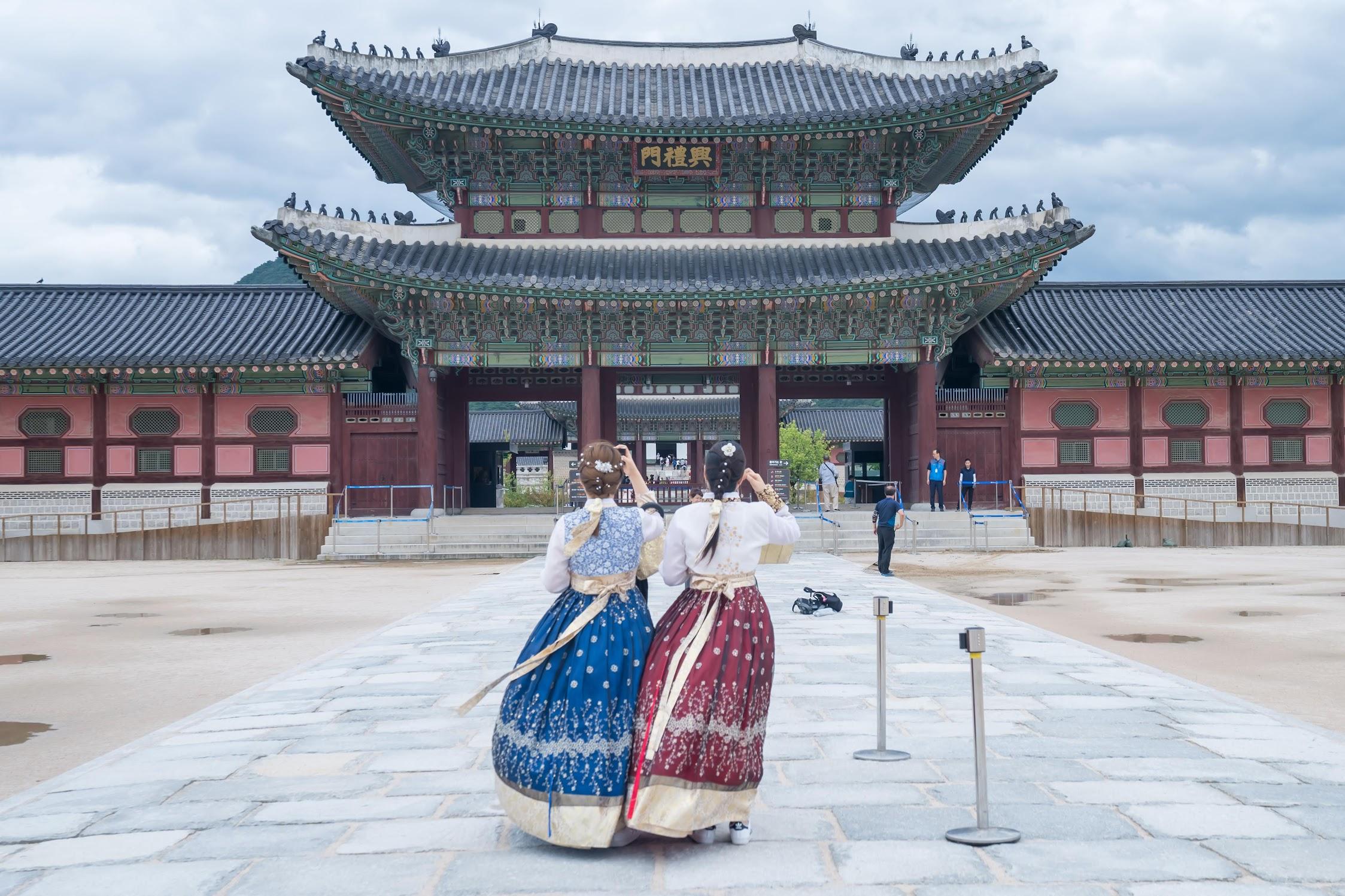 ソウル 景福宮1