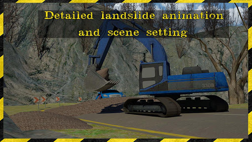 掘削機の輸送救助