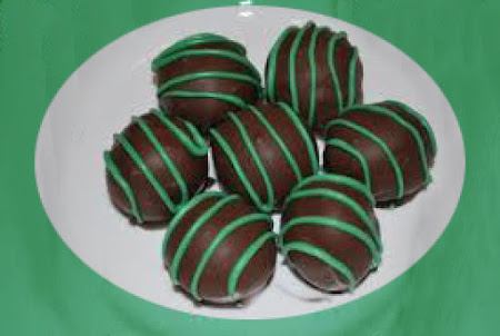 No Bake Chocolate Mint Balls Recipe