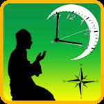 Prayer Time & Qibla Direction Icon