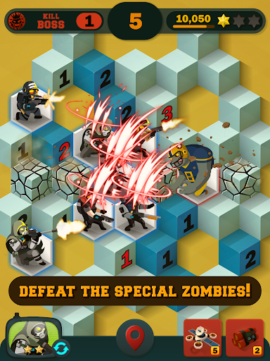 Zombie Sweeper: Minesweeper Action Puzzle 1.1.015 screenshots 19