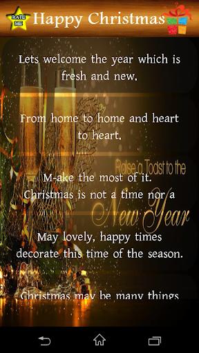 Christmas Wish Messages 1.0 screenshots 4