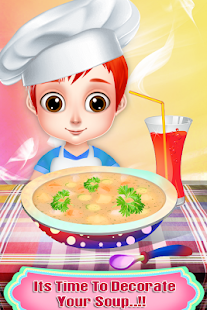 Delicious Soup Maker for Rich Girls - Cooking Game- screenshot thumbnail