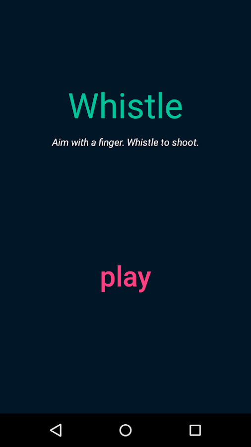 Whistle- screenshot