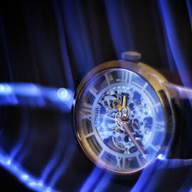 Timepiece by Ronnel Villanueva - Artistic Objects Still Life ( artistic objects, watch, timepiece, still life, time, clock, lights )