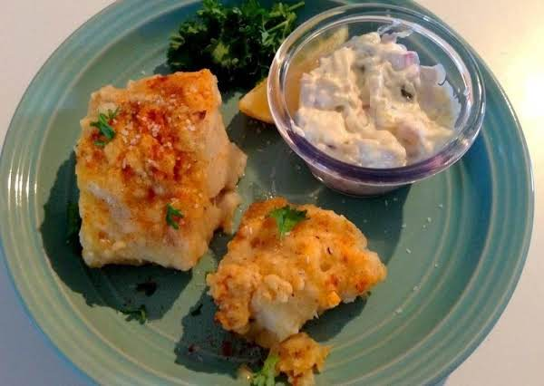 ~ Scrumptious! Lightly Dusted Baked Cod ~ Cassies Recipe