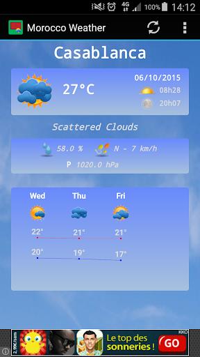 Morocco Weather Pro