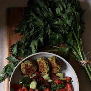 Herbed Broccoli Falafel Recipe