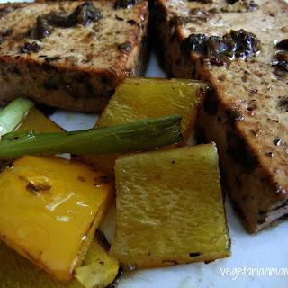 Jerk Tofu and Veggies – #glutenfree #vegan.