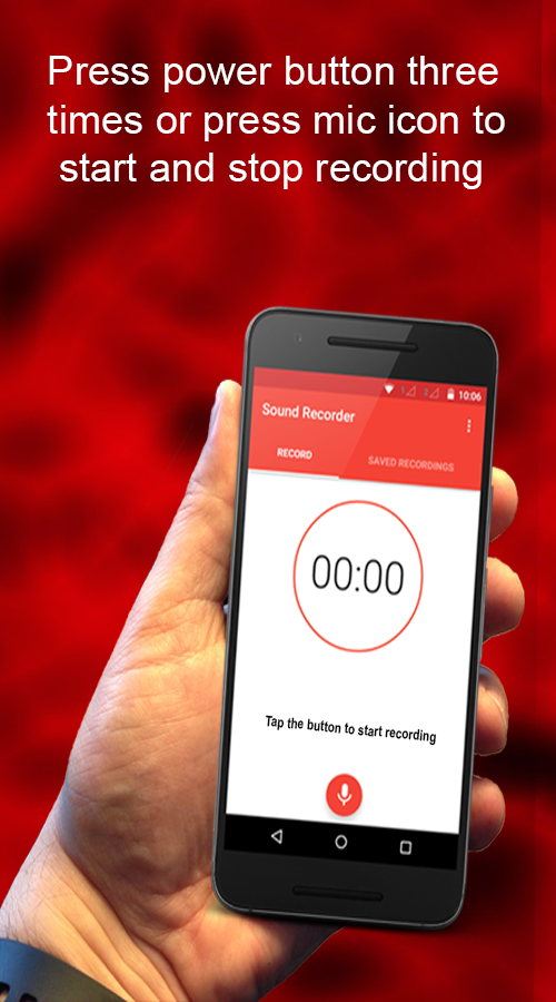 Secret Voice Recorder- screenshot