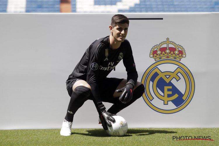 ? Thibaut Courtois a impressionné tout le monde à l'entraînement du Real Madrid
