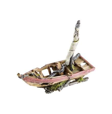 Segelbåtsvrak 22cm