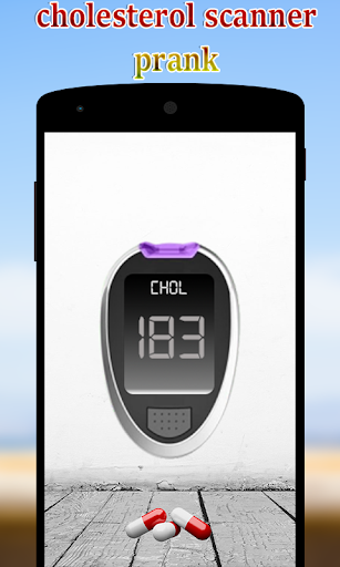 Cholesterol detector prank