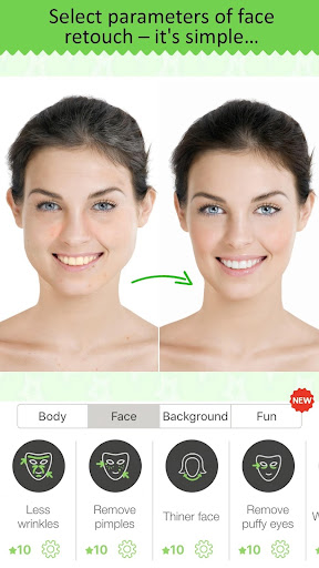 Retouch Me: body & face Editor for Beauty Photo 3.16 screenshots 2