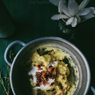 Pancetta & Kefir Mashed Potatoes