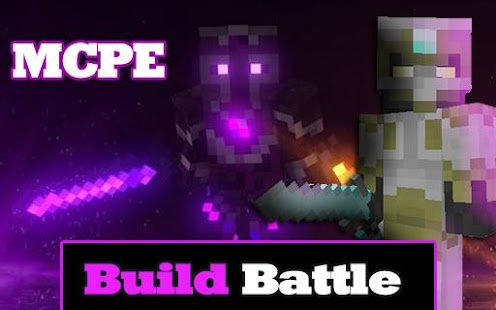 Build Battle Map For Minecraft PE - náhled