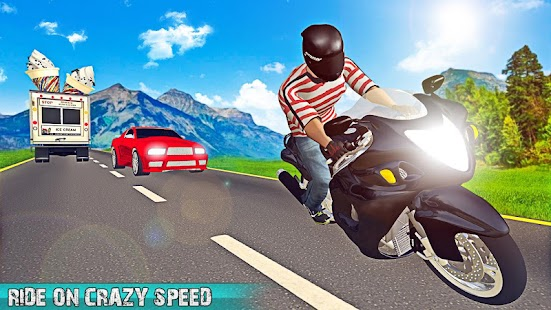 Traffic Bike Racer Fun 3D ?️ - náhled