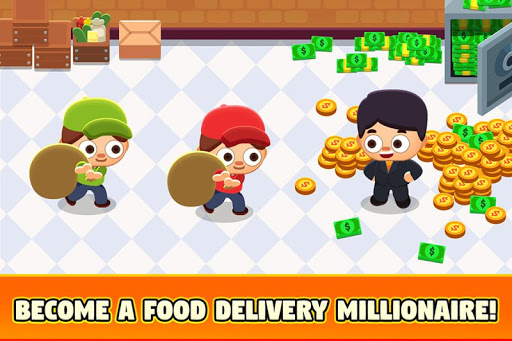 Food Delivery Tycoon - Idle Food Manager Simulator 1.1.2 screenshots 2