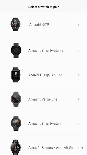 Amazfit Watch screenshot 5