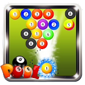 Bubble shooter 2017 : New 8 Ball Pool Shooter Game