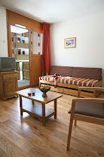 Photo: Coin salon d'un appartement 3 pièces pour 6 personnes