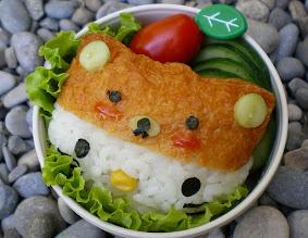Photo: Hello Kitty with Rilakkuma cap
