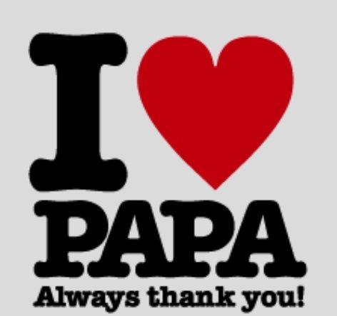 Felicidades Papá