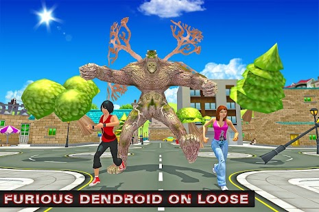 Monster City Battle: Dendroid screenshot