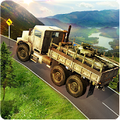 Infantry Transport Trucker 3D- Offroad Military