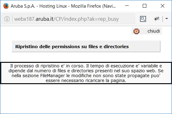 Aruba Permessi File