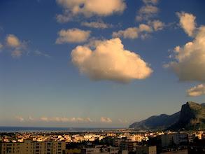 Photo: November in Sizilien Blick von Carini auf den Golf von Carini www.ullaegino.it